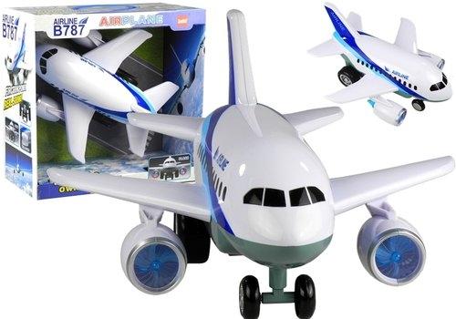 Ogromny Samolot Boeing 787 Airplane Światło