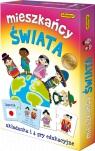 Mieszkańcy świata Gra edukacyjna (6380) Wiek: 5+ Pogorzelska Julia