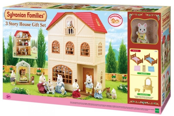 Trzypietrowy dom - zestaw na prezent (2738)