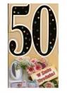 Karnet 50 Urodziny mix DL