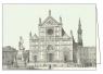 Karnet z kopertą ITW 009 Firenze Basilica S. Croce