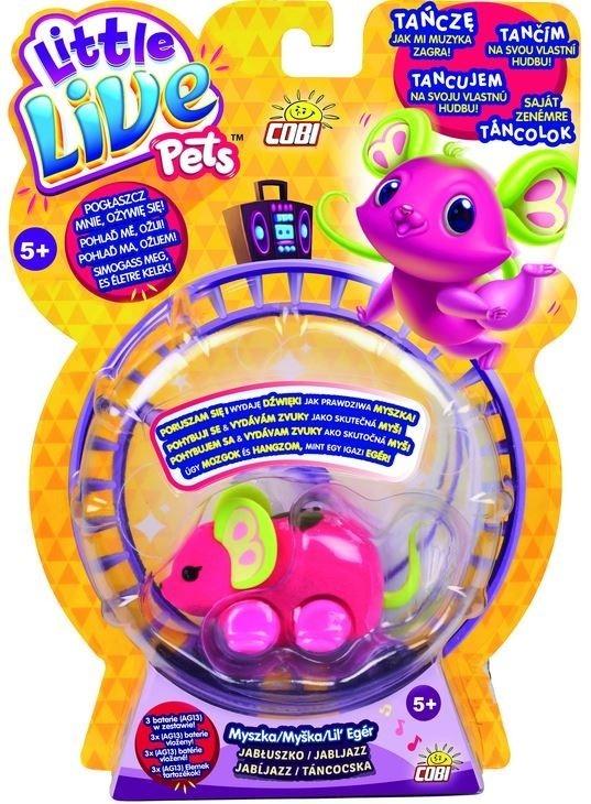 Little Live Pets Myszka Jabłuszko (28168-3)