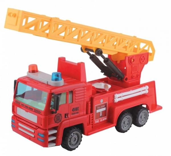 Straż pożarna na radio z ładowarką (02238)