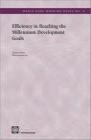 Efficiency in Reaching The Millennium Development Goals R Jayasuriya