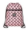 CoolPack Vert, worek plecak na sznurkach - Doggies Pink (D070332)