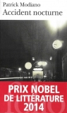 Accident nocturne  Modiano Patrick