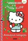 Angielski z Hello Kitty Mozaikowe naklejanki czerwone