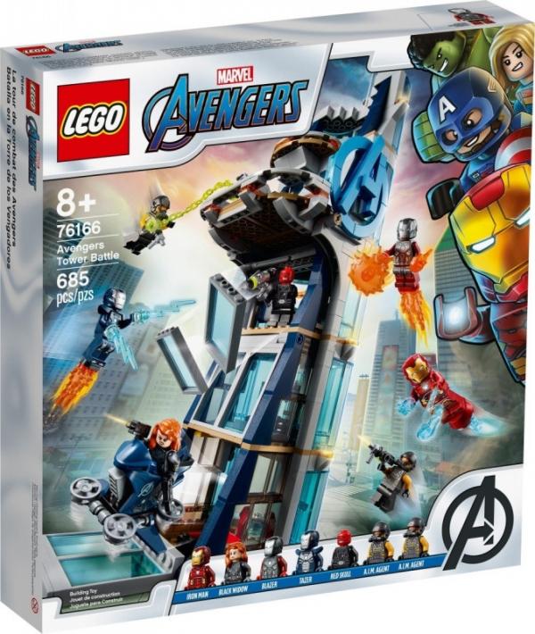 Klocki Super Heroes Walka o Wieżę Avengersow 76166 (76166)