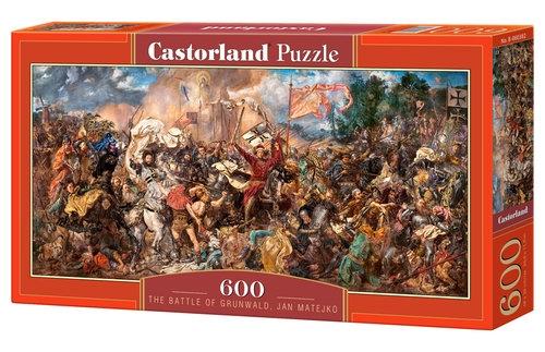 Puzzle Bitwa Pod Grunwaldem, Jan Matejko 600 (B-060382)