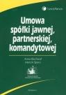 Umowa spółki jawnej partnerskiej komandytowej