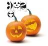 Szablon do dyni na Halloween