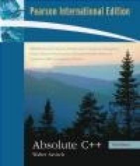 Absolute C++ Walter J. Savitch, W Savitch