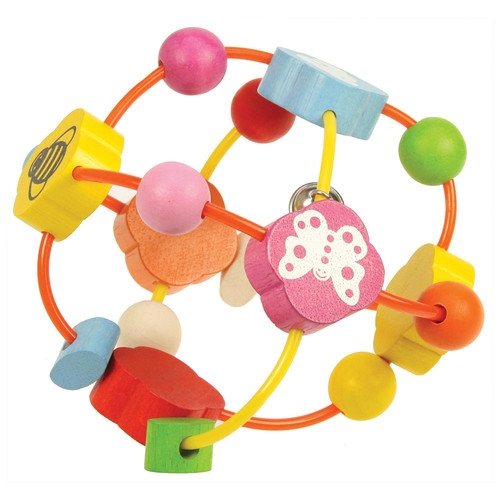 Piłka z różnokolorowymi elementami