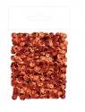 Cekiny metalizowane 9 mm, 15 g - czerwone (DPCE-060)