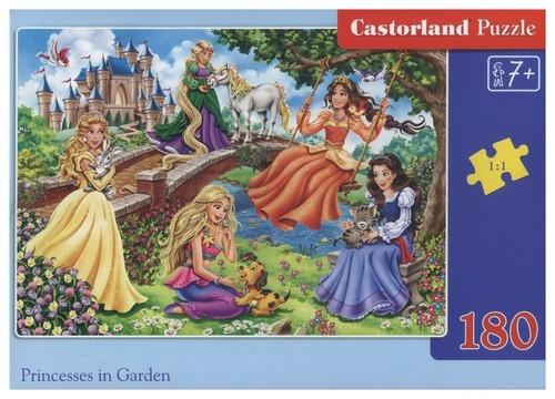Puzzle 180: Princesses in Garden (B-18383)