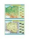 Mapa - Polska. Ukształtowanie powierzchni NE
