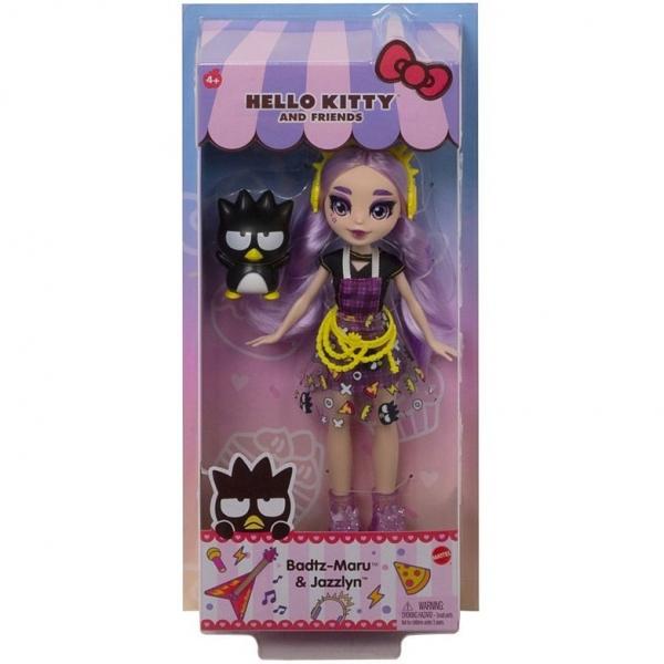 Lalka Hello Kitty Badtz-Maru i Jazzlyn (GWW95/GWW98)
