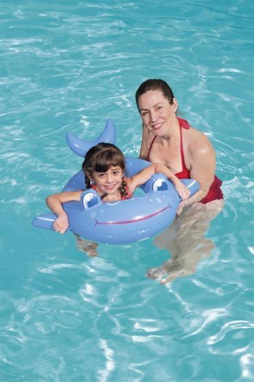 Koło dmuchane do pływania - Zwierzątka Mix (36128)