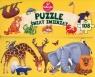 Puzzle Świat zwierząt Kukuryku 108 elementów