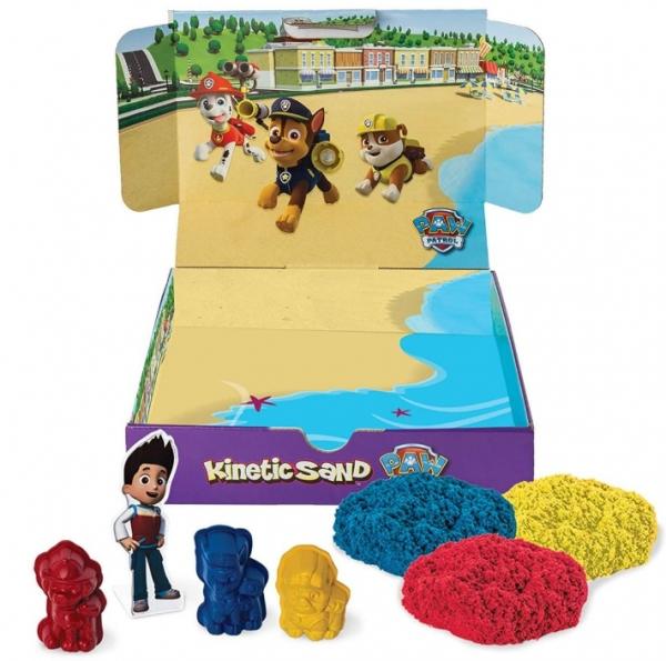 Kinetic Sand: Piasek kientyczny - Psi Patrol Przygoda na plaży (6027965)