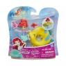 Disney Princess Mini Pływające laleczki, Arielka (B8966/B8939)