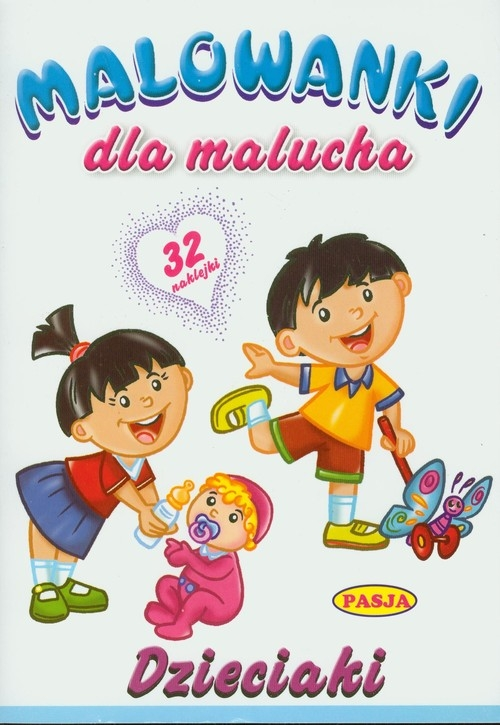 Dzieciaki Malowanka dla malucha (Uszkodzona okładka)