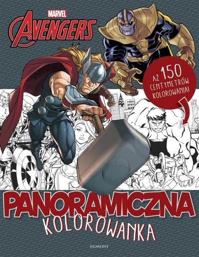 Marvel Avengers Panoramiczna kolorowanka
