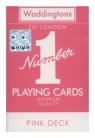 Karty do gry Waddingtons Pink Deck wersja angielska