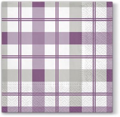 Serwetki TL670024 Subtle Check /violet/