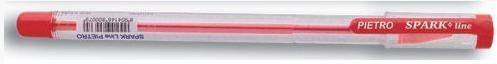 Długopis Pietro 0,7mm czerwony (25 szt) SPARK