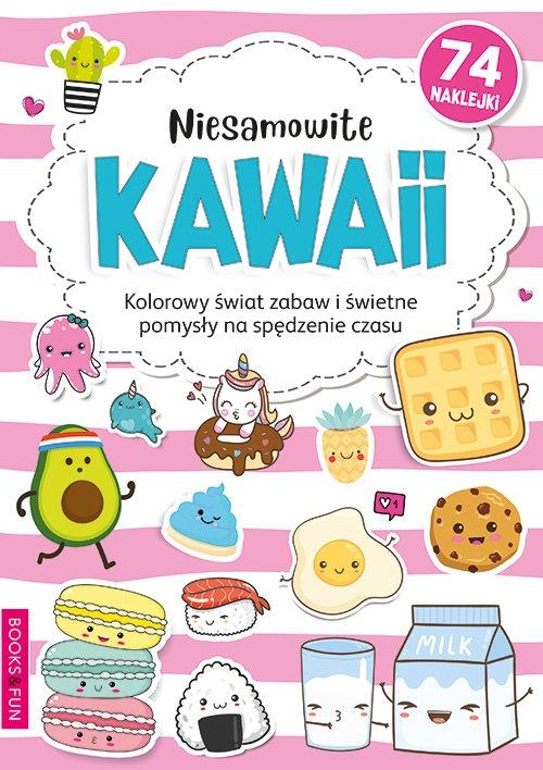Niesamowite Kawaii Kolorowanka Praca zbiorowa