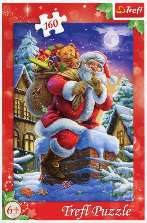 Puzzle 160 Św. Mikołaj