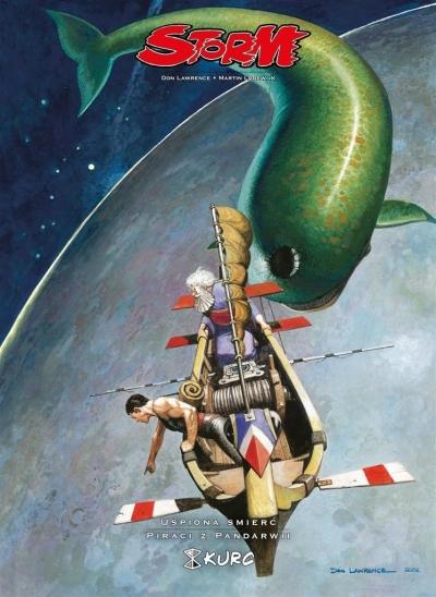 Storm T.5 Uśpiona śmierć. Piraci z Pandarwii (Uszkodzona okładka) Don Lawrence, Martin Lodewijk