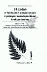 81 zadań o funkcjach zespolonych z pełnymi rozwiązaniami krok po kroku Regel Wiesława