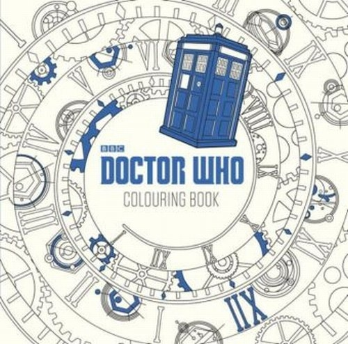 Doctor Who The Colouring Book Gray James Newman, Chew Lee Teng