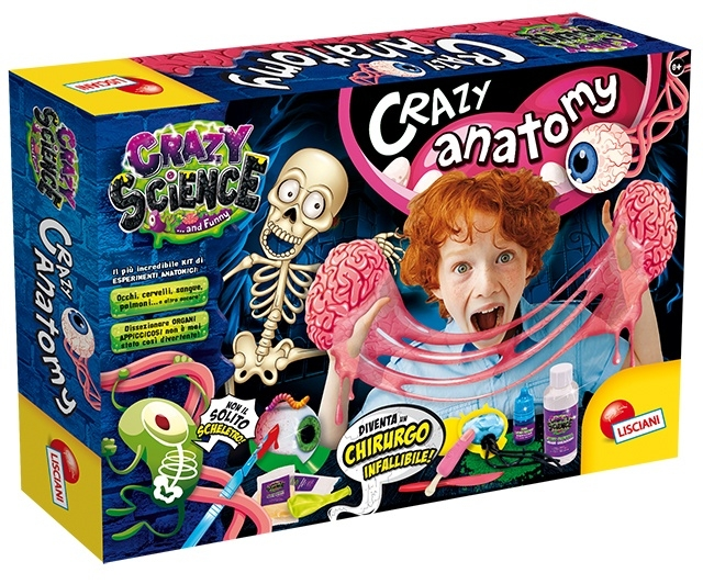 Crazy Science - Laboratorium zwariowanej anatomii (304-PL80663)