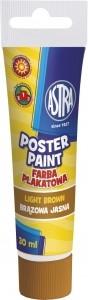 Farby plakatowe Tuba - 30 ml jasny brąz