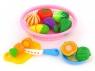 Artykuły kuchenne Adar zestaw owoców i warzyw z koszykiem (460386)