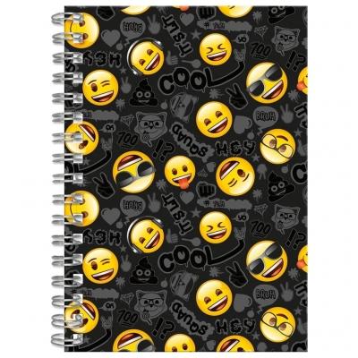 Notes spiralny, kołozeszyt A6 Emoji (DRF-62386)