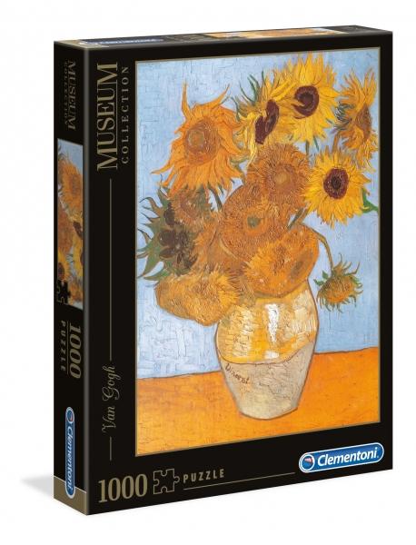 Clementoni, puzzle Museum Collection 1000: Van Gogh, Sunflowers (31438)