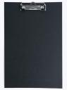 Deska A5 PVC z klipem czarna D.RECT