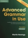 Advanced Grammar in Use with Answers Hewings Martin
