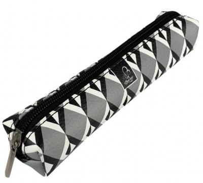 Piórnik mini prostokąt GT Romby BW