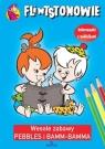 Flintstonowie Wesołe zabawy Pebbles i Bamm-Bamma