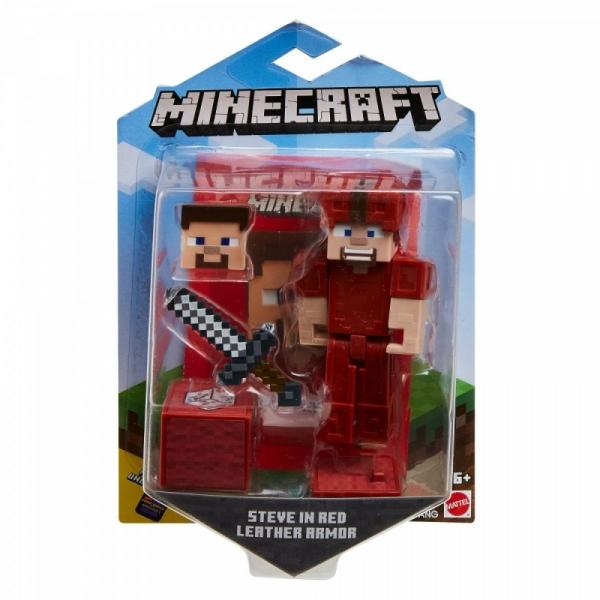 Figurka Minecraft Comic Maker Figurka 3.25 Steve (GCC11/GLC66)