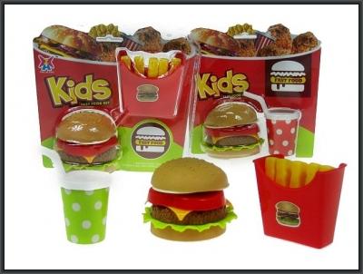 Figurka Hipo zestaw fast food (HNS10)