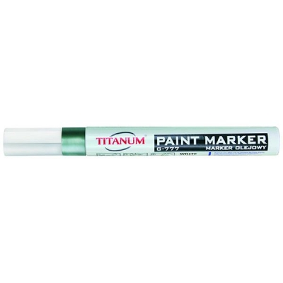 Marker olejowy Titanum, srebrny 3,0 mm (G-777)