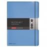 Notatnik my.book Flex A4/2x40k linia, kratka - niebieski (11361441)