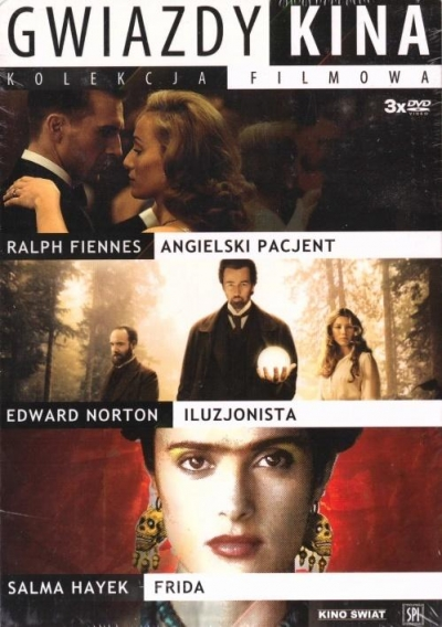 Pakiet: Gwiazdy kina 2 (3 DVD) praca zbiorowa