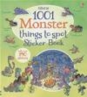 1001 Monster Things to Spot Sticker Book Gillian Doherty